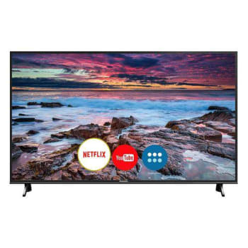 "Smart TV LED 49"" Panasonic TC-49FX600B Ultra HD 4K 3 HDMI 2 USB Preta - Marketplace"
