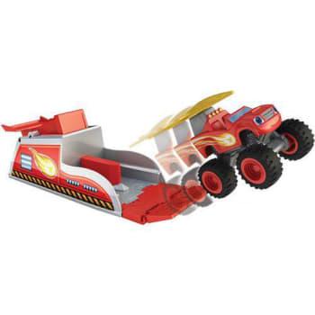Blaze Turbo Lançadores Mattel Vermelho