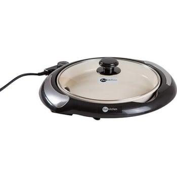 Grill Classic Fun Kitchen com Revestimento Cerâmico - Preto