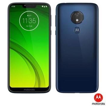 """Motorola Moto G7 Power Azul Navy, com Tela de 6,2"""", 4G, 64 GB e Câmera de 12 MP - XT1955-1"""