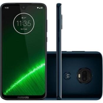"Smartphone Motorola Moto G7 Plus 64GB Dual Chip 4GB RAM Tela 6.2"""