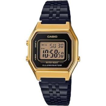 Relógio Casio Vintage Unissex Preto Digital LA680WEGB-1ADF