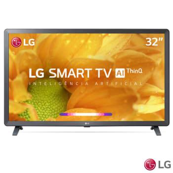 """Smart TV LG LED 32"""" com Comandos de Voz, WebOS 4.5, Upscaler HD, HDR Ativo e Wi-Fi - 32LM625BPSB"""