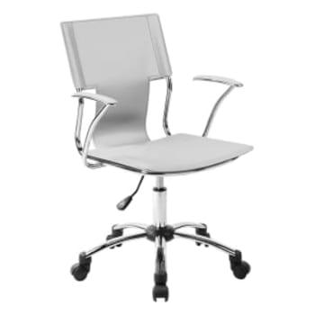 Cadeira para Escritório Carrefour Home Branca HO37392