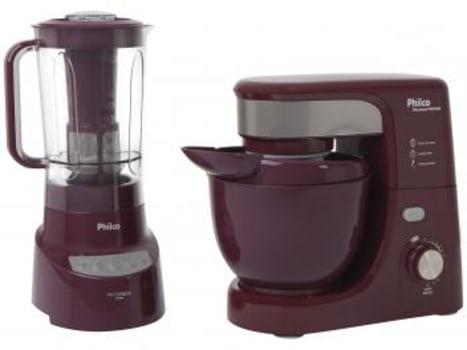 Kit Premium Wine Philco com Liquidificador - Batedeira - Magazine Ofertaesperta
