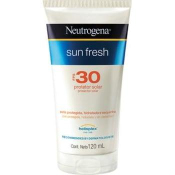 Protetor SolarNeutrogena Sun Fresh FPS 30 120ml