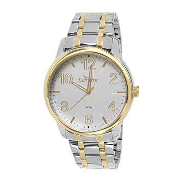 9bbf18aa699 Relógio Condor Masculino Prata e Dourado Analógico CO2035KQO 5K em ...