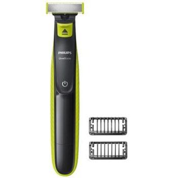 OneBlade Philips QP2521/10 uso a seco ou molhado com 2 pentes cinza e verde