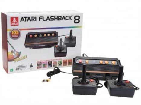 Atari Flashback 8 Tec Toy 2 Controles - Fabricado no Brasil com 105 Jogos na Memória - Magazine Ofertaesperta