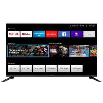 Smart TV Philco 43 Polegadas com Resolução Full HD e Painel em LED - Ptv43e10n5sf