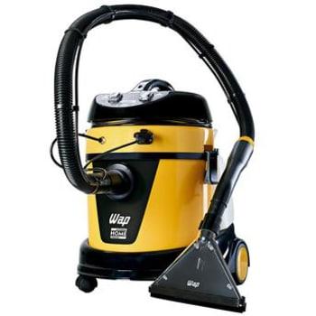 Extratora de Água e Pó Wap Home Cleaner 1600W Amarela com Acessórios