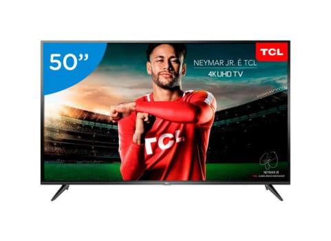 """Smart TV LED 50"""" TCL 4K/Ultra HD P65US Linux"""