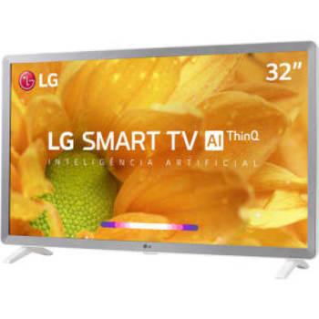 Smart TV Led 32'' LG 32LM620 HD Thinq AI Conversor Digital Integrado 3 HDMI 2 USB Wi-Fi com Inteligência Artificial