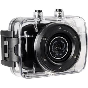 """Câmera Filmadora de Ação ONN 5MP HD Tela 2"""" Preta"""