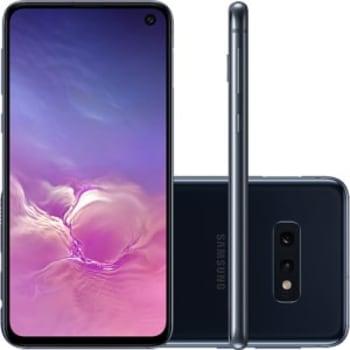 """Smartphone Samsung Galaxy S10e 128GB Dual Chip Android 9.0 Tela 5,8"""" Octa-Core 4G Câmera 12MP + 16MP - Preto"""