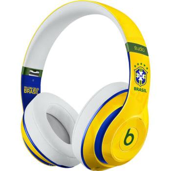 Fone de Ouvido Beats Studio 2 MHBN2BZ/A com Microfone Amarelo