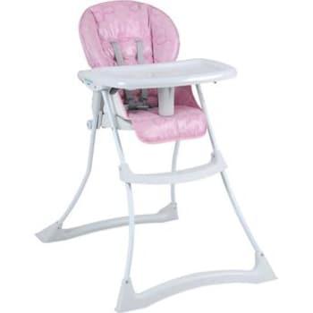 Cadeira de Refeição Papa & Soneca Rosa Burigotto