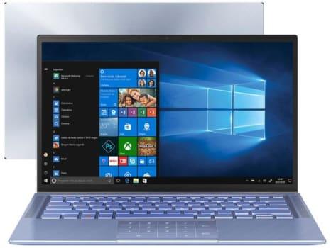 "Notebook Asus Zenbook 14 i5-10210U 8GB RAM 256GB SSD Tela FHD 14"" - UX431FA-AN202T"