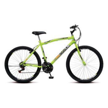 Bicicleta Colli CB500 Aro 26 Aero com 21 Marchas Amarelo Neon