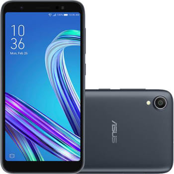 "Smartphone Asus Zenfone Live L1 32GB Dual Chip Tela 5,5"" Android Oreo Qualcomm Snapdragon MSM8937 1,4 GHz 4G Câmera 13MP"