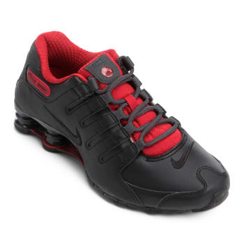 Tênis Nike Shox Nz Se - Preto e Vermelho