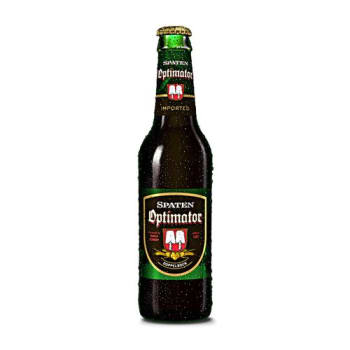 Cerveja Spaten Optimator Long Neck 355ml - Unidade