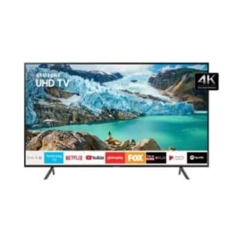 "Smart TV LED 55"" UHD 4K Samsung 55RU7100 3 HDMI 2 USB Wi-Fi Bluetooth"