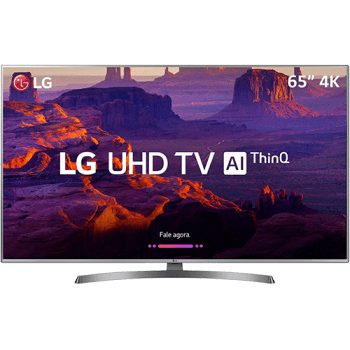 "Smart TV LED UHD 4K LG 65"" 65UK6530 4 HDMI 2 USB Wi-Fi Webos 4.0 60Hz"
