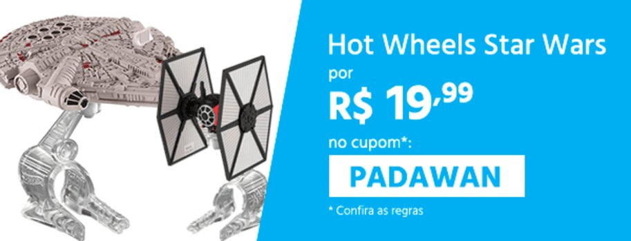 [Primeira Compra] Seleção de brinquedos Star Wars