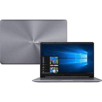 "Notebook Asus Vivobook X510UR-BQ166T Intel Core i5 8GB (GeForce 930MX de 2GB )  1TB Tela FHD Nano Edge 15,6"" Windows 10 - Cinza"