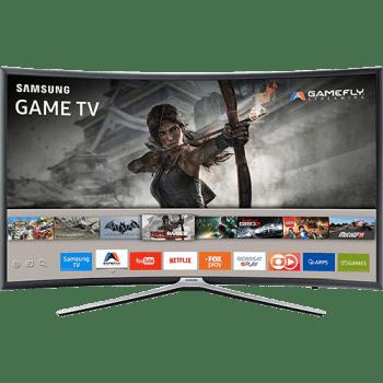 """Smart TV Games LED 49"""" Samsung 49K6500 Full HD Curva 49k6500 com Conversor Digital  3 HDMI e 2 USB Conectividade Smartphones Wi-Fi 60Hz"""