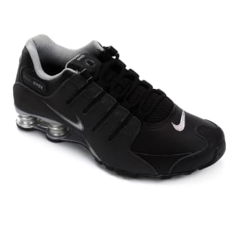 Tênis Nike Shox Nz Eu Masculino - Preto e Prata