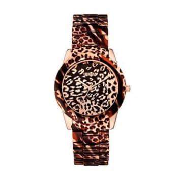 Relógio Feminino Analógico Guess Animal Print - 92527LPGS