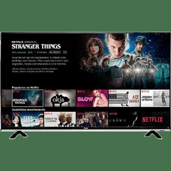 """Smart TV LED 49"""" Philco PTV49e68dSWN Full HD com Conversor Digital 3 HDMI 1 USB Wi-Fi 60Hz - Preta nas Lojas Americanas."""