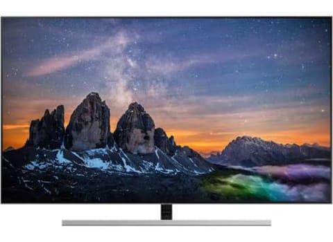 """Smart TV QLED 55"""" Samsung Q80 QN55Q80RAGXZD 4K HDMI, USB, Wi-Fi Smart Tizen Preta Conversor Digital Integrado"""