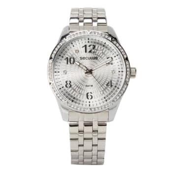 Relógio Feminino Analógico Seculus 28616L0SVNS2 - Cromado